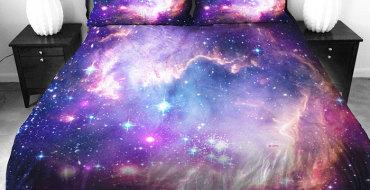 Постельное белье космос, сон среди звёзд
