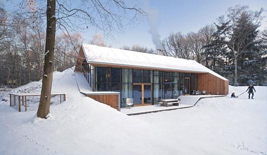 Оригинальная идея строительства дома
