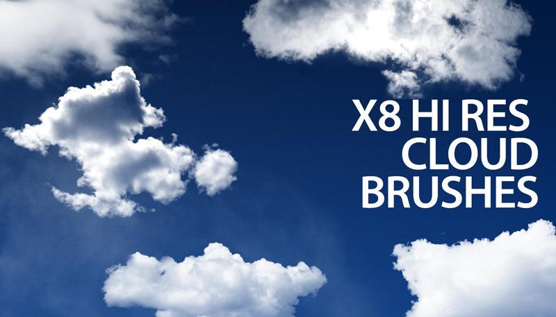 Кисти для photoshop облака