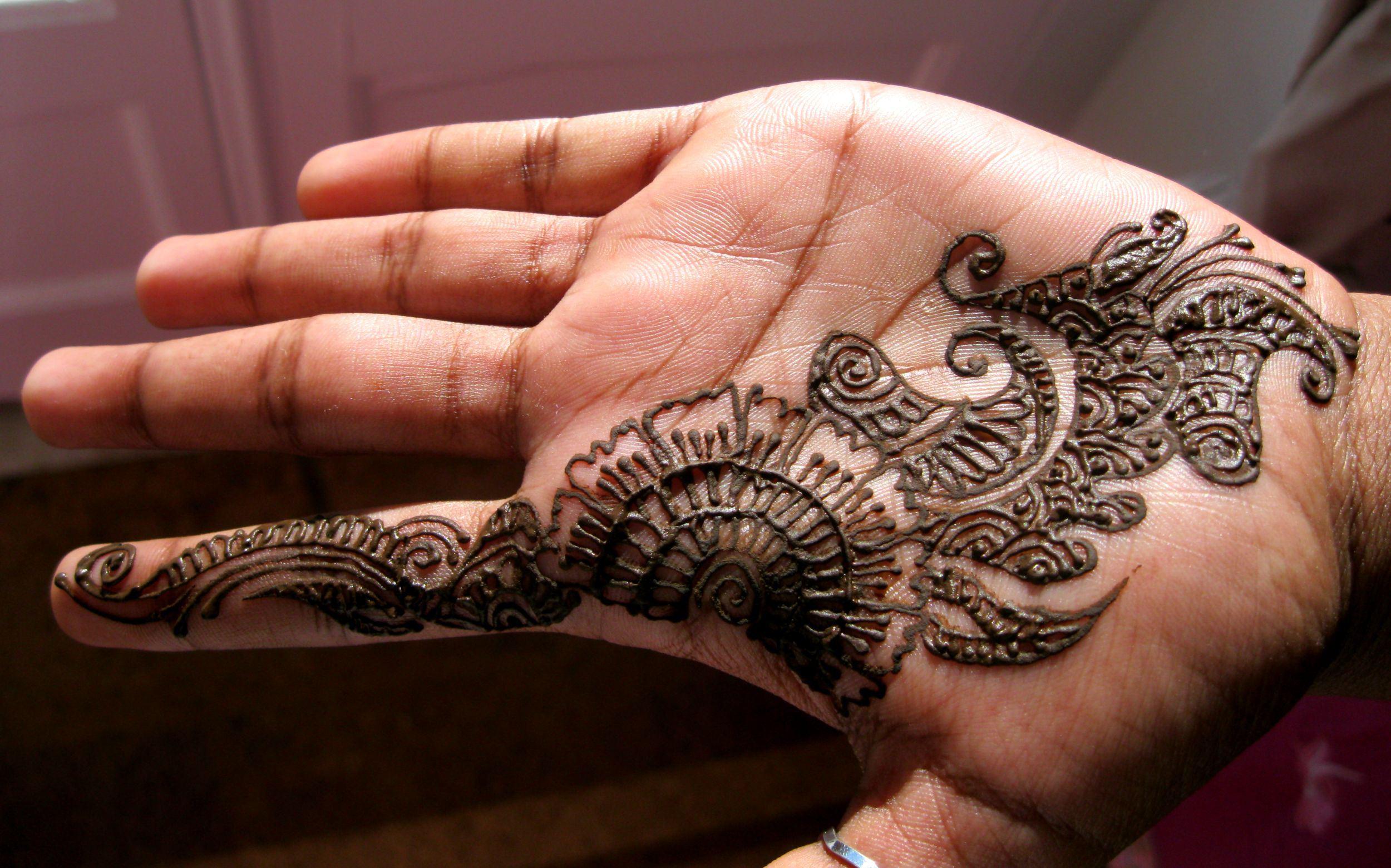 Татуировки хной