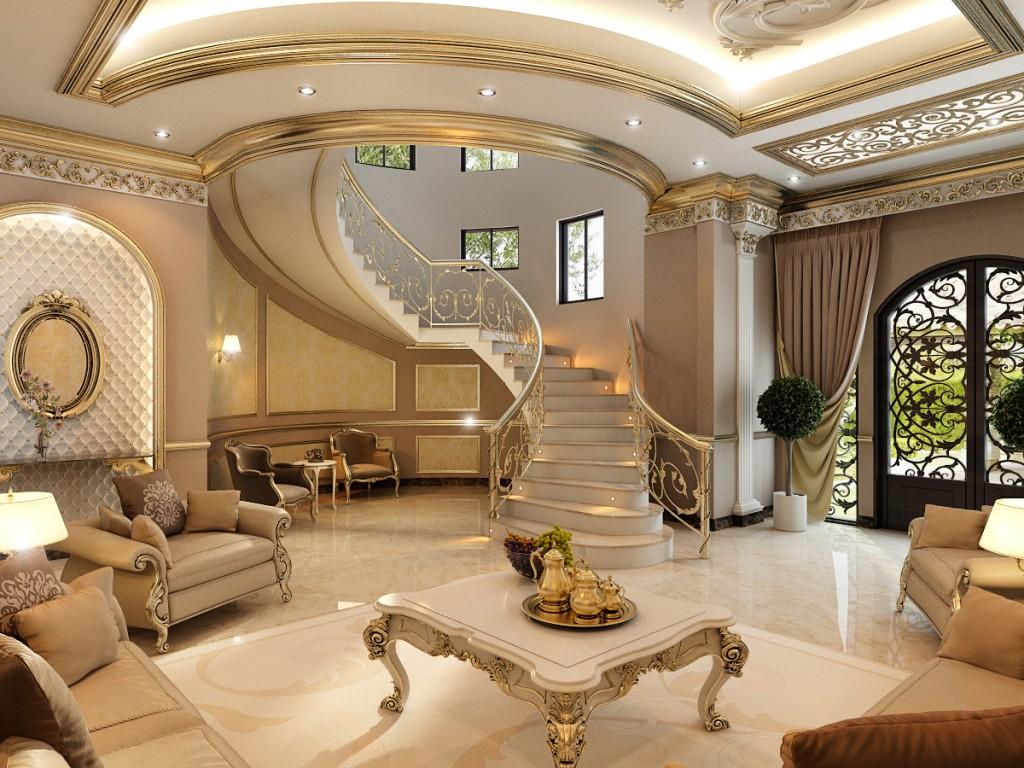 Дизайн частной виллы в Дубае (1)