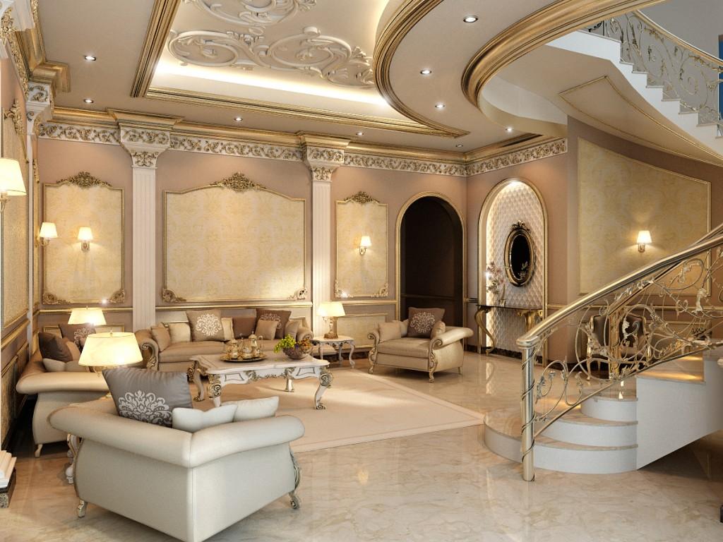 Дизайн частной виллы в Дубае