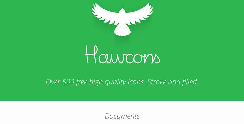 500 бесплатных иконок для сайта