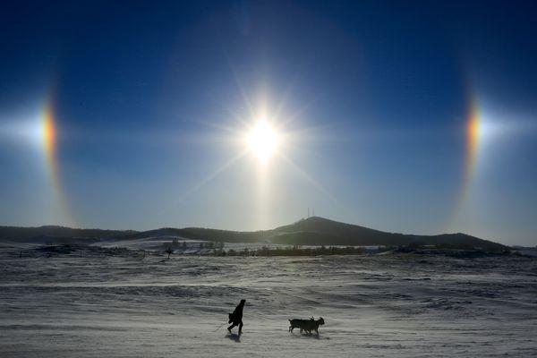 Явления природы sun dogs