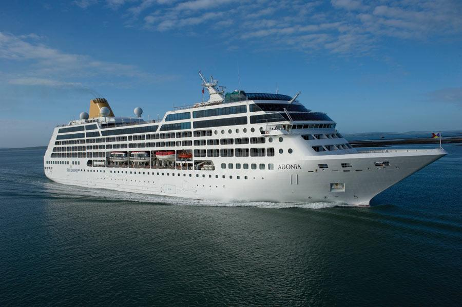 Круизный лайнер Adonia (1)
