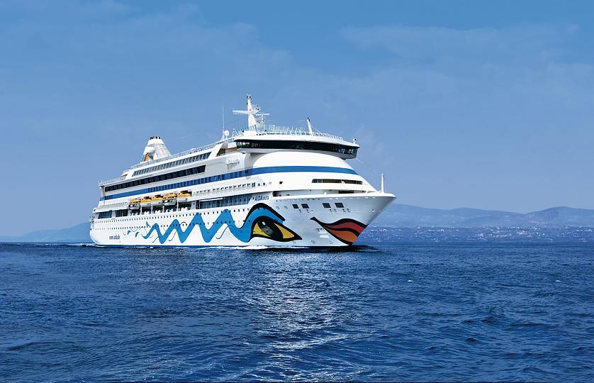 AidaAura круизный пятизвездочный лайнер (1)