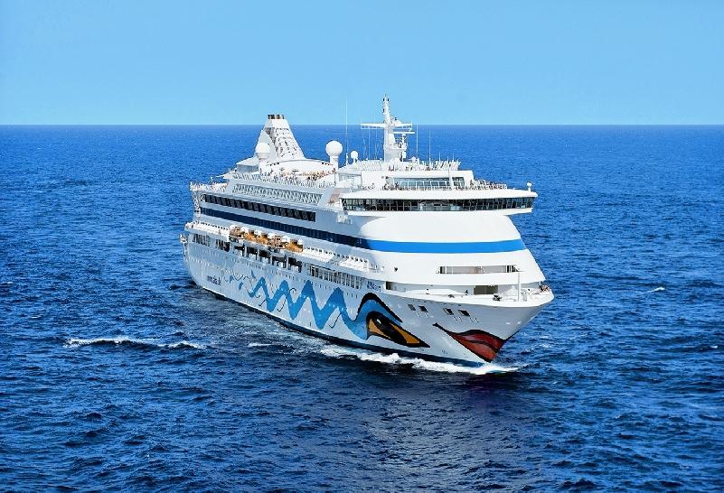 AidaAura круизный пятизвездочный лайнер