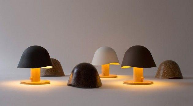 Дизайнерские настольные лампы