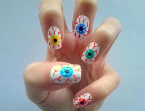 Дизайн ногтей мультяшки (1)