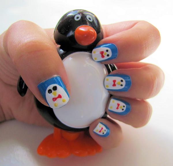Дизайн ногтей мультяшки (10)