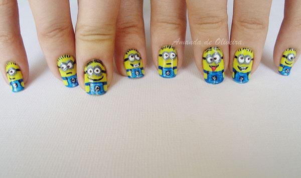 Дизайн ногтей мультяшки (11)