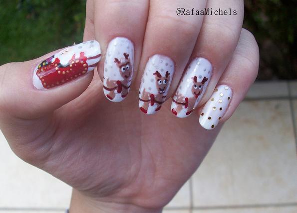Дизайн ногтей мультяшки (14)