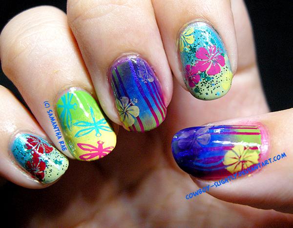 Дизайн ногтей мультяшки (17)