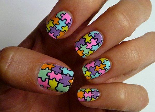 Дизайн ногтей мультяшки (18)