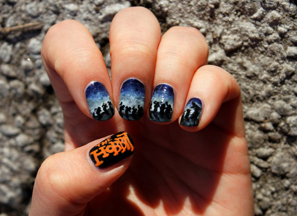 Дизайн ногтей мультяшки (19)
