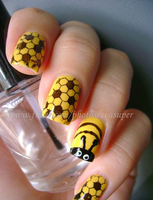 Дизайн ногтей мультяшки (2)
