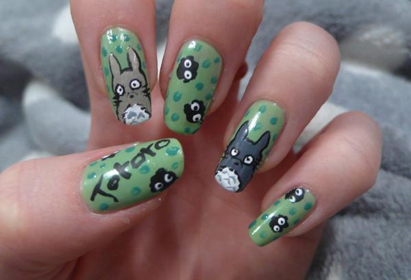 Дизайн ногтей мультяшки (20)