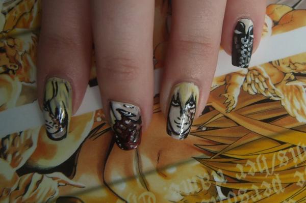 Дизайн ногтей мультяшки (21)