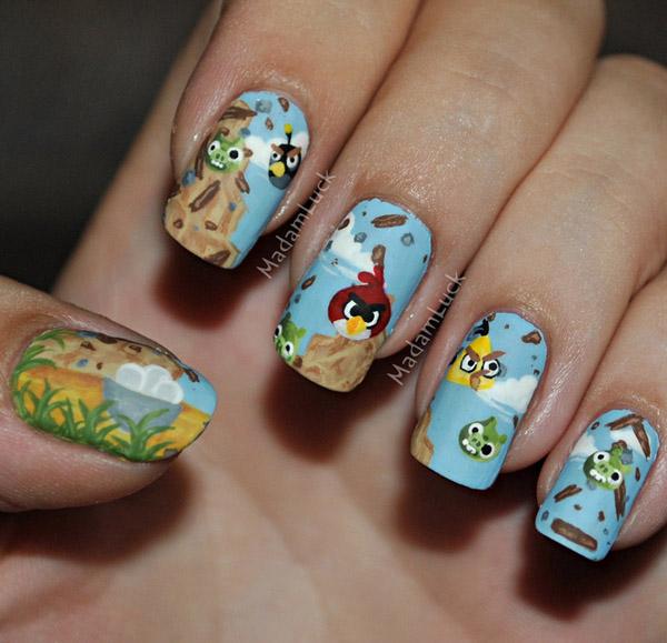 Дизайн ногтей мультяшки (3)