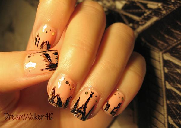 Дизайн ногтей мультяшки (6)
