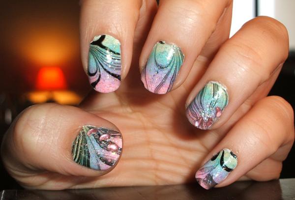 Дизайн ногтей мультяшки (8)