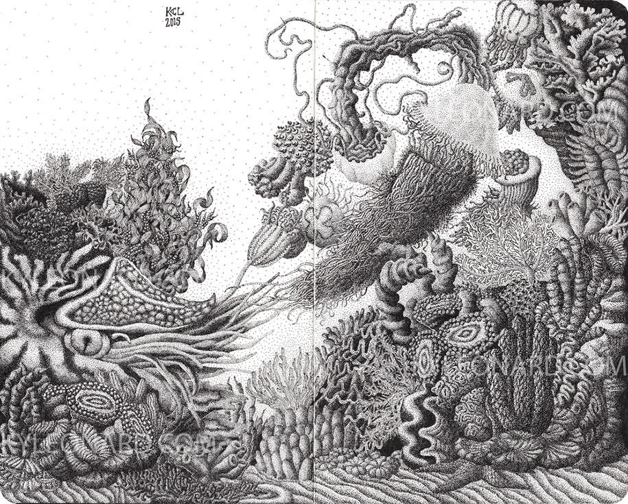 Рисунки карандашом животных (5)