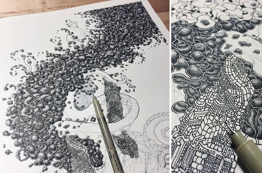 Рисунки карандашом животных (6)
