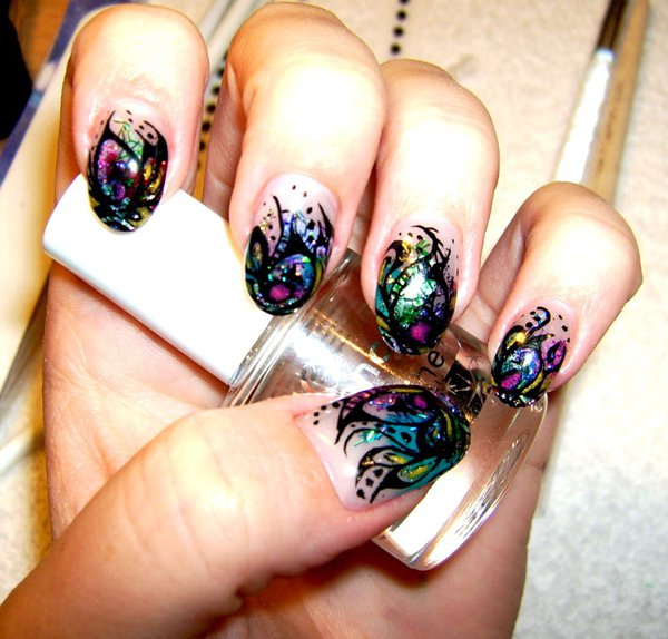 Элегантный дизайн ногтей (4)