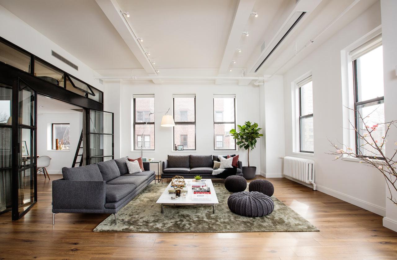 Новый дизайн большой квартиры