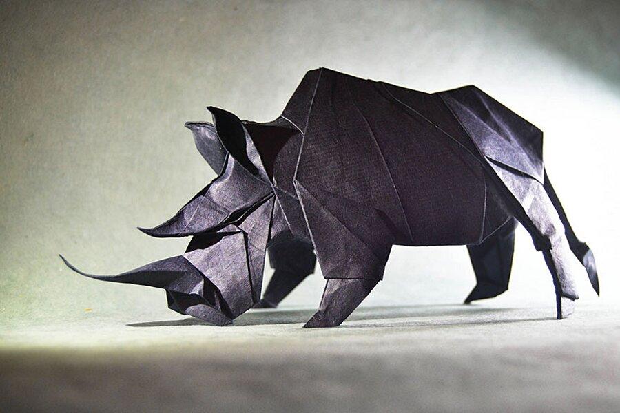 Оригами – создание бумажных фигурок