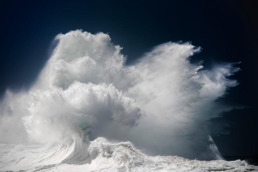 Водоворот волны океана (3)