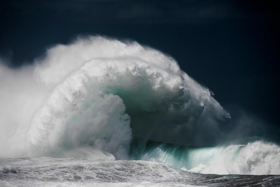 Водоворот волны океана (4)