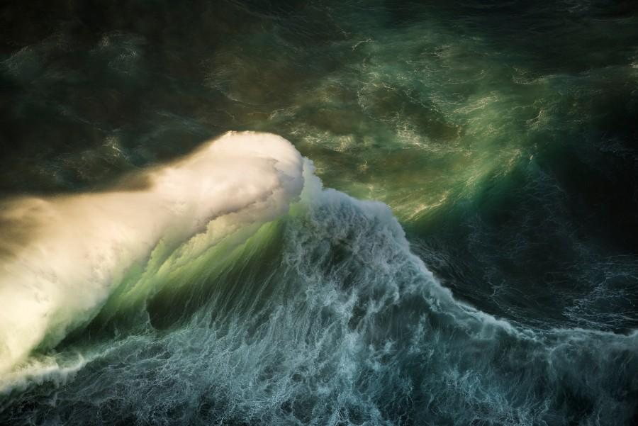 Водоворот волны океана (5)