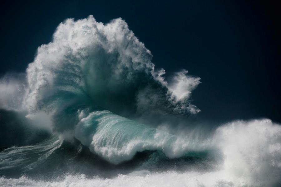 Водоворот волны океана (8)