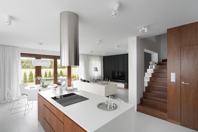 Современный дизайн интерьера для небольших домов (21)