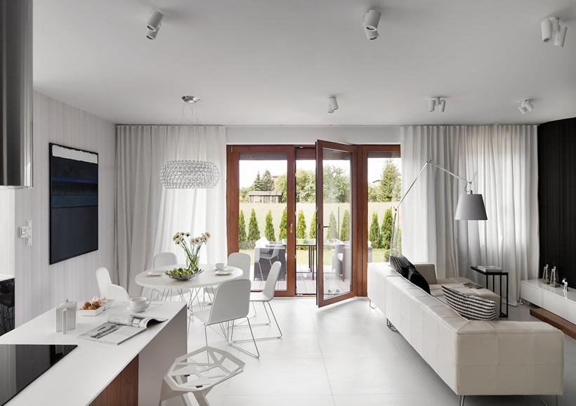 Современный дизайн интерьера для небольших домов (22)