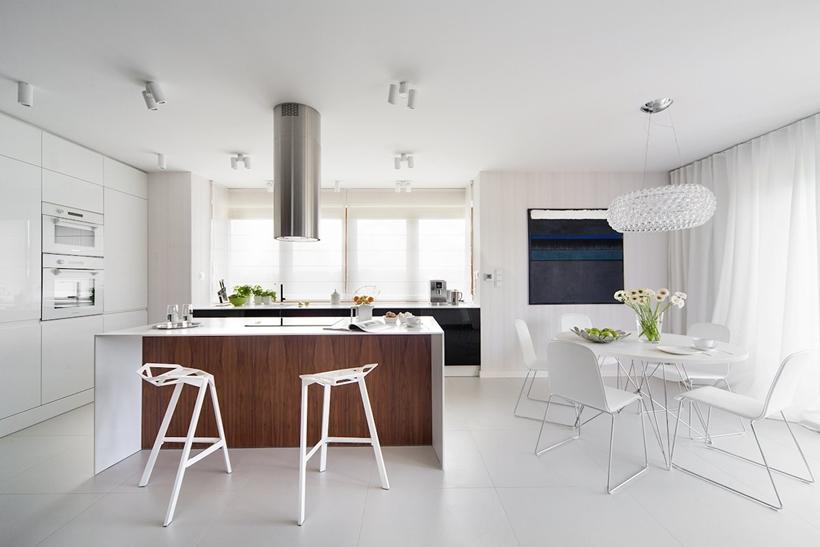 Современный дизайн интерьера для небольших домов (23)