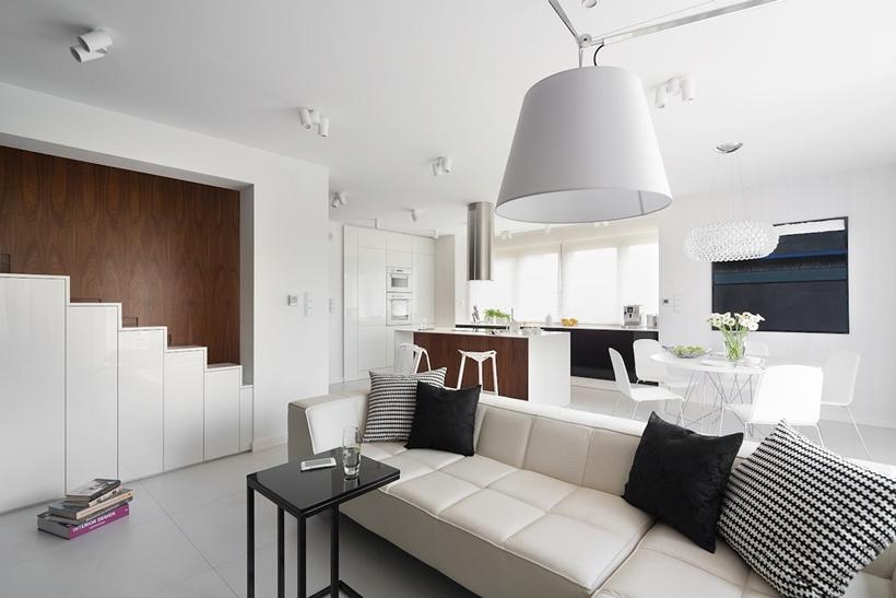 Современный дизайн интерьера для небольших домов (4)