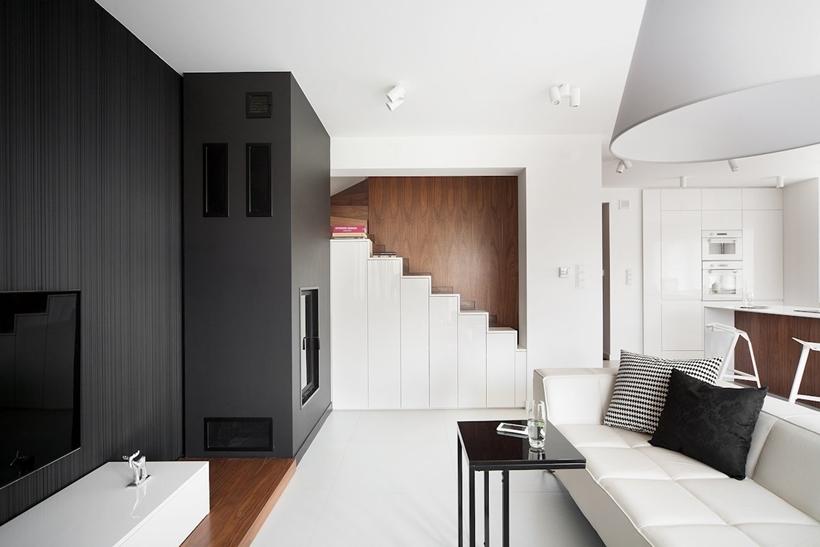 Современный дизайн интерьера для небольших домов (5)