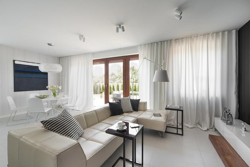 Современный дизайн интерьера для небольших домов