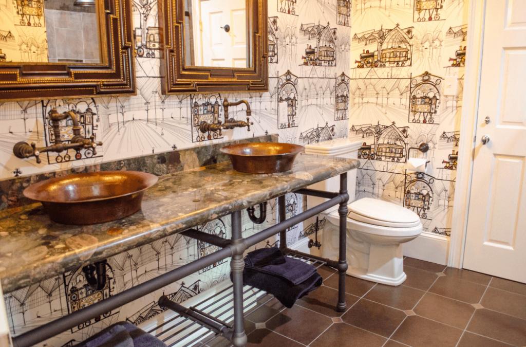 Идеи дизайна ванной комнаты (19)