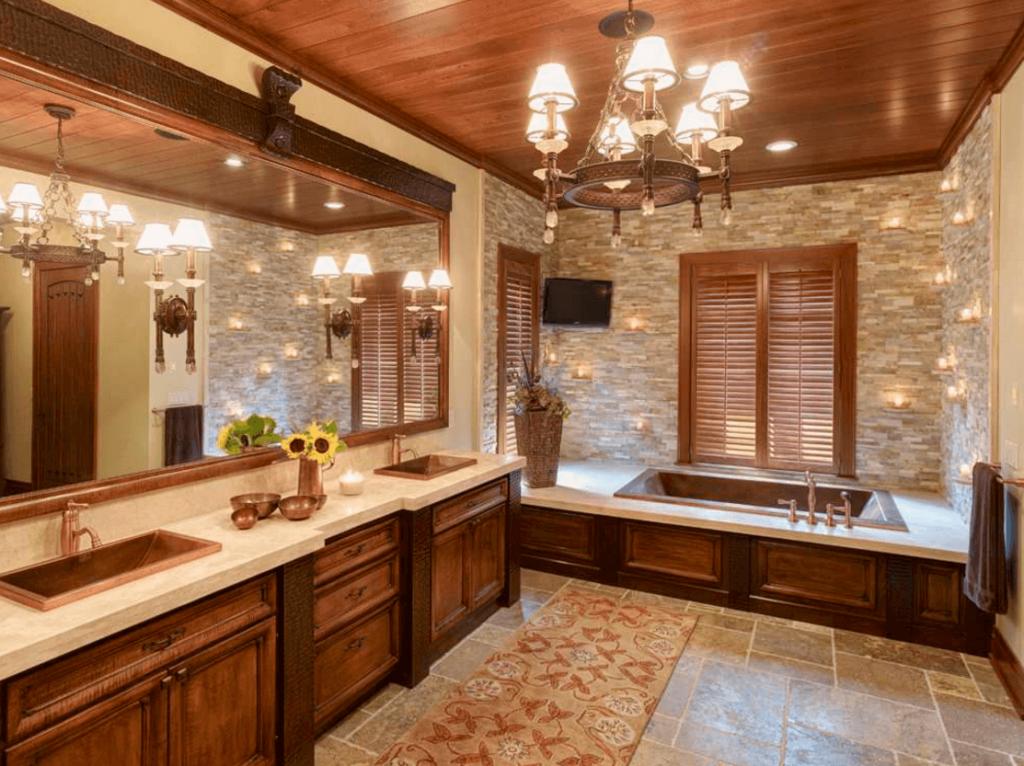 Идеи дизайна ванной комнаты (5)