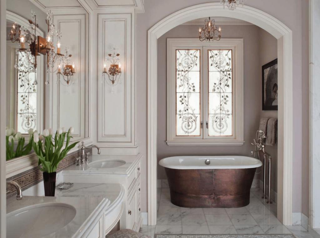 Идеи дизайна ванной комнаты (6)