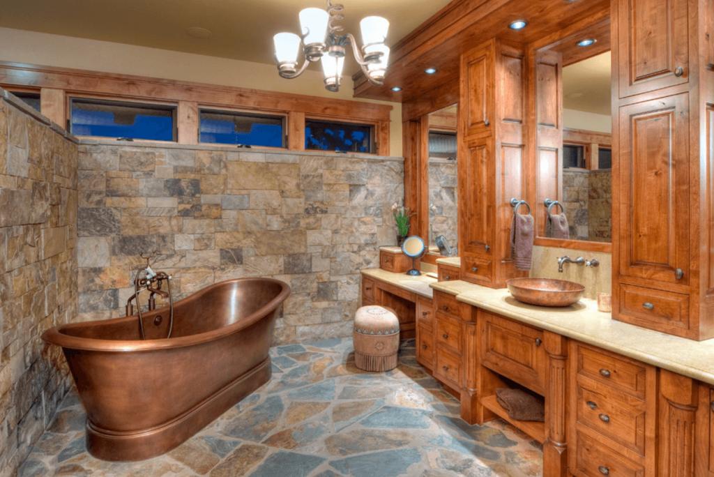 Идеи дизайна ванной комнаты (7)